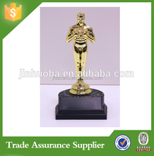 Resin Oscar And Plastic Figure Trophy