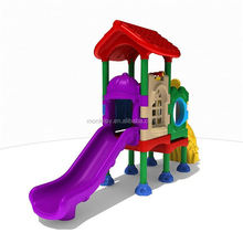 Kids family kindergarten plastic play toy curved slide playground slides playground slide cheap outdoor playgrounds