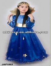 xxxl fancy dress costumes / Blue pretty princess dresses / carnival costumes for teens