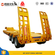 3 Axle Low Bed Trailer By China Yangjia