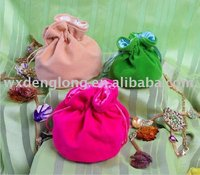 velvet pouches with drawstring