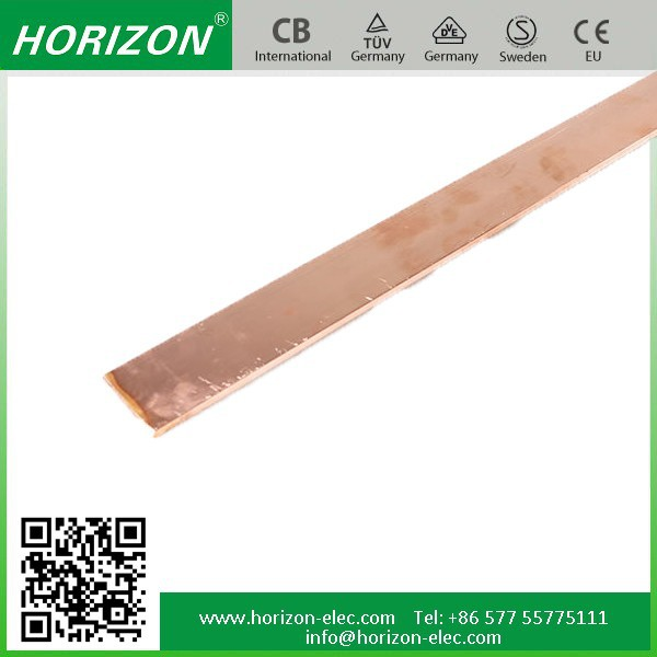 Competitive Price Of Copper Clad Aluminium TX-009 Pure Copper hard or half hard or flexible type tinned copper Busbar