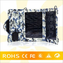 Hot new product for 2014 high efficient foldable smartphone solar charger case for outdoors
