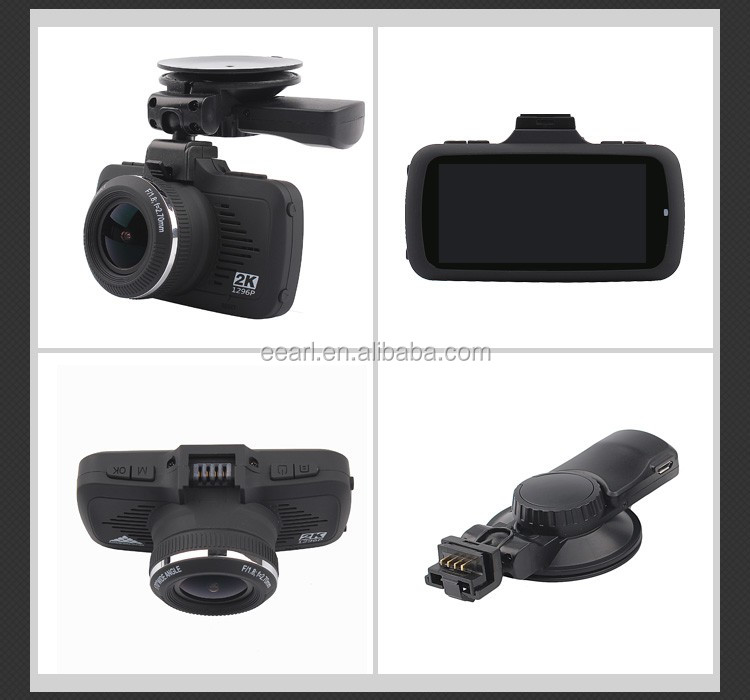 "2.7"" Full HD 1296P Ambarella A7LA50 Car Video Camera Recorder with GPS"