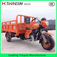 OEM Hot Sale 3 Wheel Motor Cargo Tricycl 200cc Shineray Tricycle