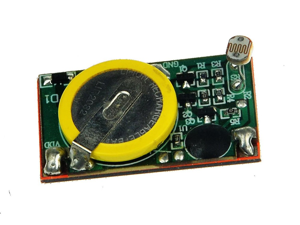 Small sound chip/Provide recordable sound chip