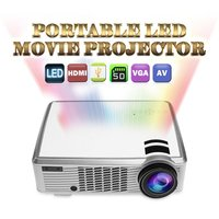 high quality Mini led projector LCD projector 2000 lumens 1920*1080 3D full HD 1080P portable led mini projector