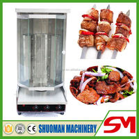 Easy operation and multifunctional kebab machine used