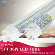 China made process SMD2835 pink led neon tube lightlamp led tube light bulb 9-25w 2-5ft good price