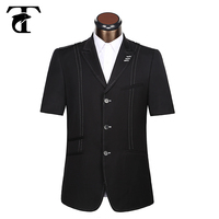 2015 newest 100% handmade men jacket blazer men's casual wear for whosale