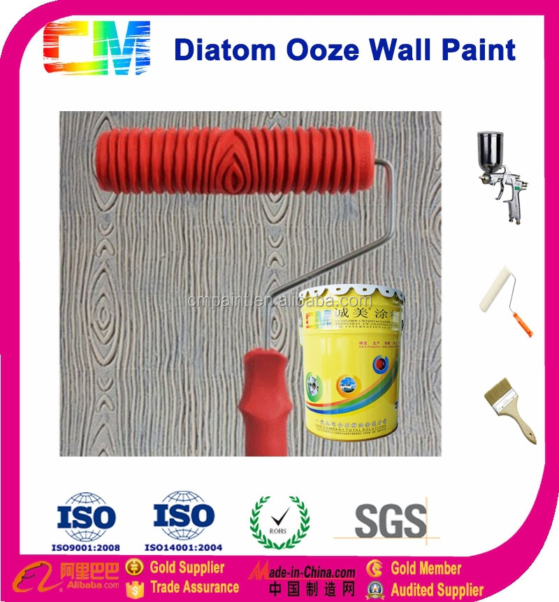 CM Diatom Ooze Nature Stone Interior Wall Paint Texture Design