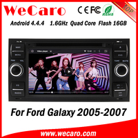 Wecaro WC-FU7016 Android 4.4.4 dvd gps HD for ford galaxy car gps navigation 2005 2006 2007 USB SD