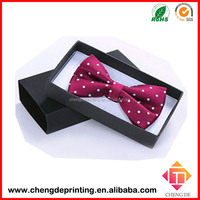 cardboard Bow Tie gift clothing packaging box