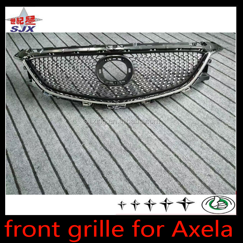 Auto parts car front grille for Mazda axela