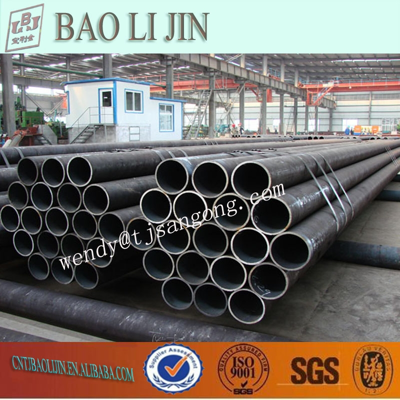 ERW STEEL PIPE ASTM A53 / A106 L GRADE B