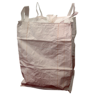 fibc big polypropylene woven bags with bottom cover