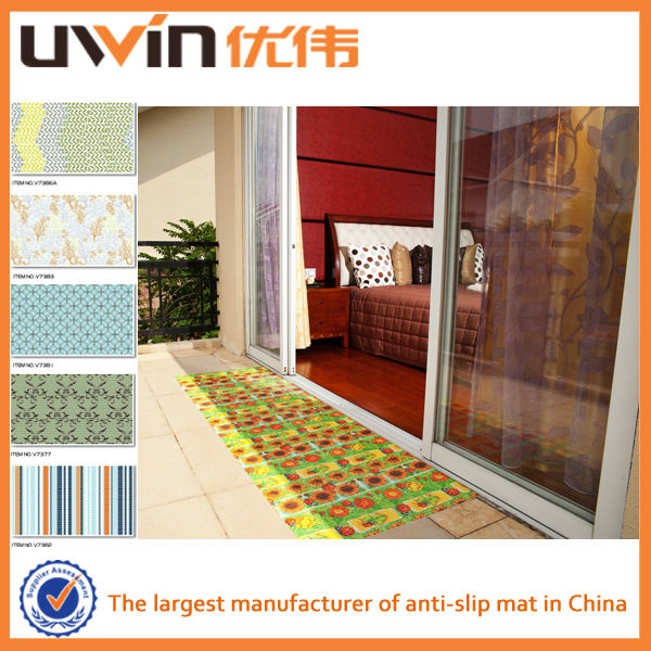 Printed PVC foam decorative vinyl door covering