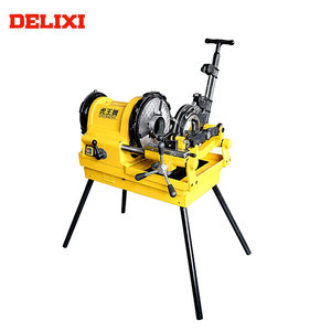 "DELIXI DLX100D 1/2"" To 4"" 900W Low Price Long Service Life 4 In. Electric Pipe Threading Machine"