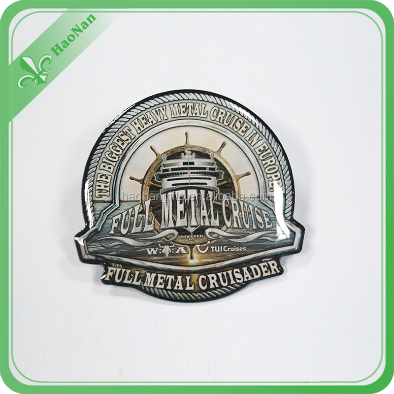 1 dollar products Hot sales souvenir metal plate