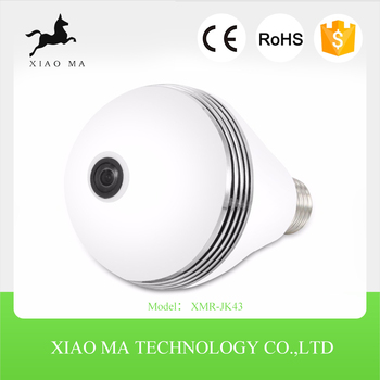 High quality Led light bulb camera for home security XMR-JK43