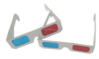 Anaglyph Red Cyan 3d Glasses Top Quality Logo Printed Cheap Paper Anaglyph 3D Glasses