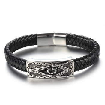 religion bracelet jewelry wholesale fashion titanium steel masonic bracelet jewelry
