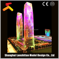 architectural model for real estate shopping mall model