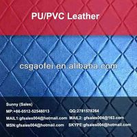pvc car leather factory