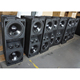 promotional VT 4888 dual 12' 3- way line array DJ speakers