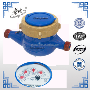 LXSG Brass/cast iron body Dry Dial Multi-Jet water meter