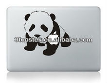 Kofu panda 3m decal Removable adhesive Unique skin for MacBook, High Quality Vinyl sticker