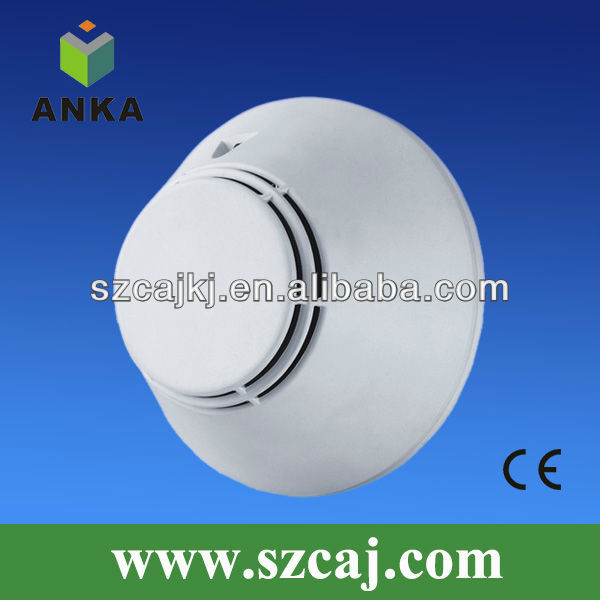 Hot sell Anka wired photoelectric smoke detector alarm