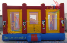 2015 hot sale cheap inflatable kids fun city
