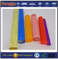 Colored clear acrylic rod 2mm to 600mm accept