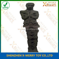 X-MERRY terror mummy halloween prop cross hands on chest latex production good haulted house decoration