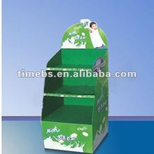 4Color printing corrugated plastic display stand