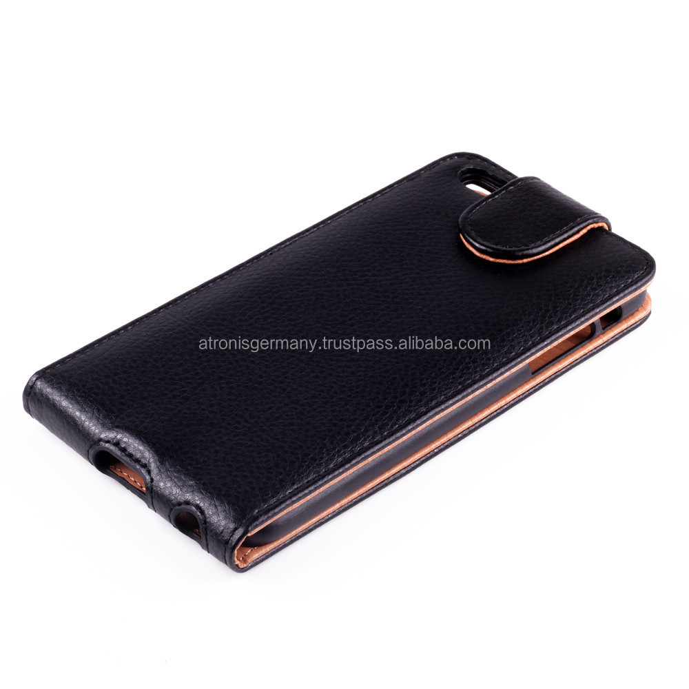 Litchi Texture Leather Case with Credit Card Slots made for iPhone 6 Plus