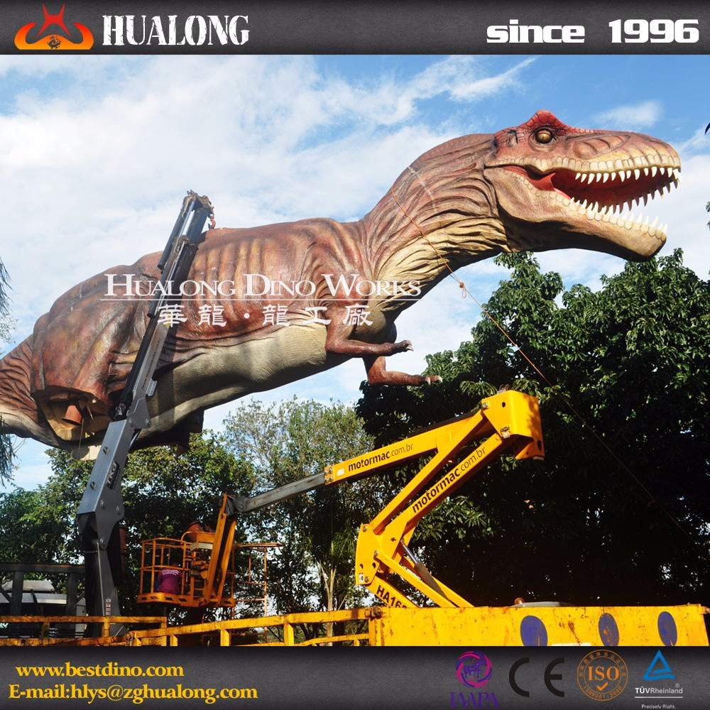 Attractive Theme Park Life Size Animatronic T-Rex For Sale
