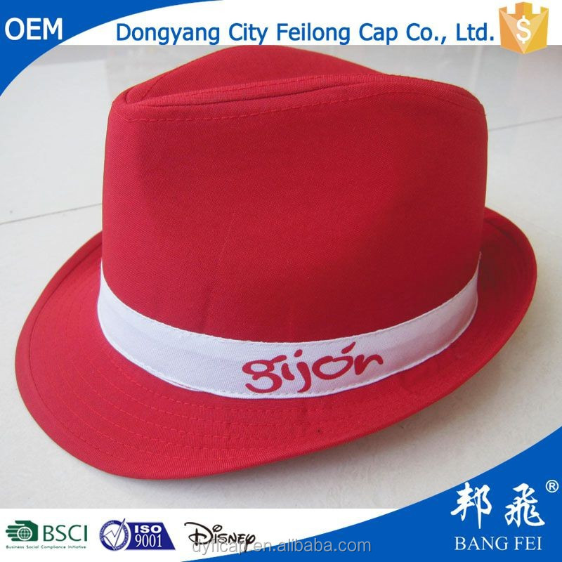 100% polyester imprinted promotional straw hat