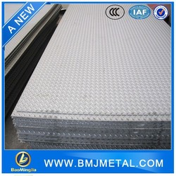 Stainless Steel Decorative Plate Embossed /Checkered Plate