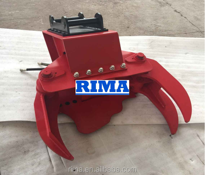 Log Cut Grapple With Saw/Hot Sale Log cutter Log Cutter