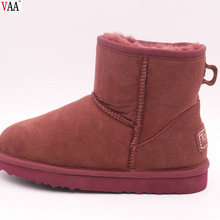 Fashionable Winter Factory Colorful China Wholesale Beautiful Slip-on Simple Style Women Boots Ladies Shoes JLX-CF-421