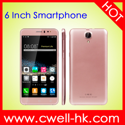 Wholesale 6 inch android 5.1 Quad core dual sim 1GB RAM 8GB ROM cheap unlocked cell phone