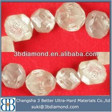 Distributor rough loose white diamond