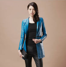 D12092A WOMEN FASHION SLIMMING LEATHER CLOTHING