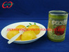 A10 can size food, cheap Canned yellow peaches in light/heavy syrup