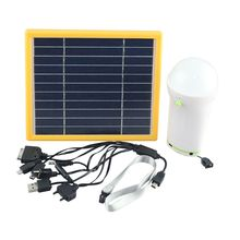2014new style factory price Africa and Asia Hot sell solar light for home with USB port to charge mobile phone