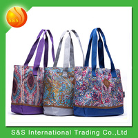 Wholesale 3 Color Reusable Tote Shopping Bag