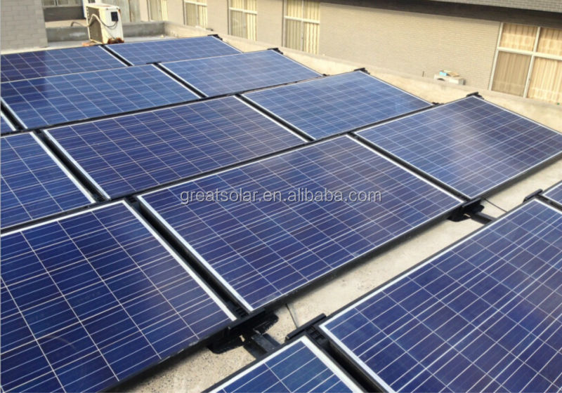 High power output photovoltaic Solar Panels 315 W 36V, long life-span guarantee with TUV, ISO, UL, CE