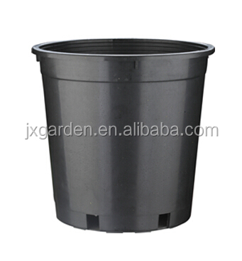 plastic black pot nursery pots 5 gallon